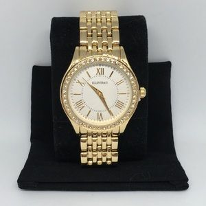 5147ad15c NEW Stunning Women's Ellen Tracy Watch — Gold Tone